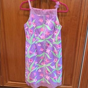 ✨💜Lilac Lilly Pulitzer Floral Sundress✨6💜